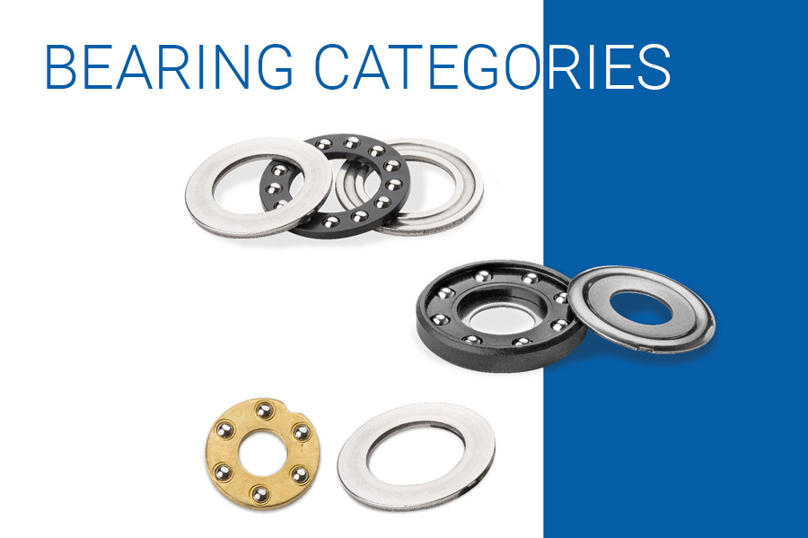 Ekko-Meister AG offers different thrust bearing categories like sets and indivual components