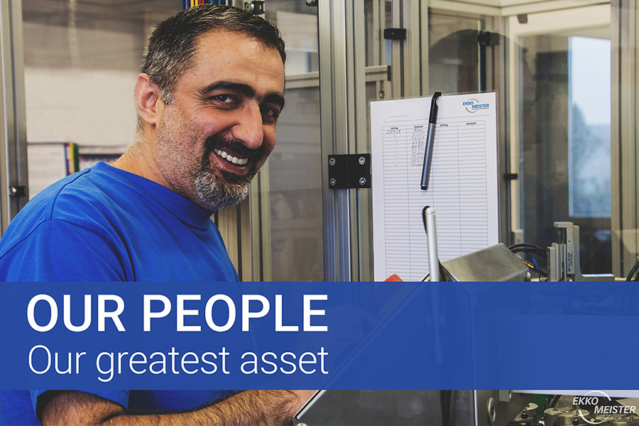 Ekko-Meister AG's people are our greatest asset